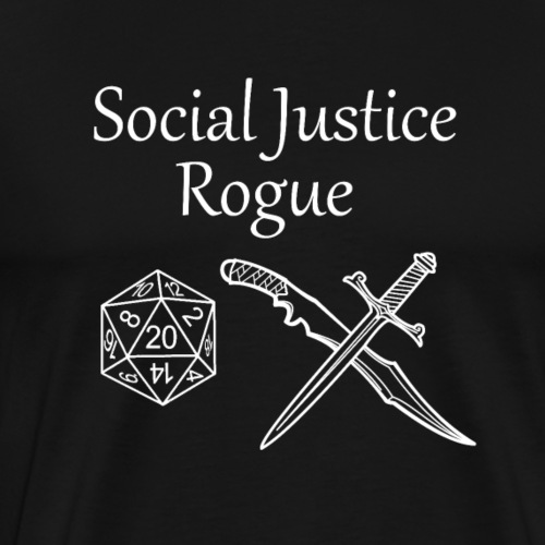 Social Justice Rogue - Men's Premium T-Shirt