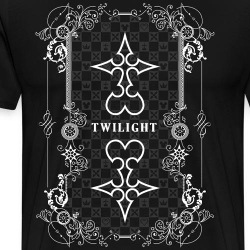 Crepúsculo - Kingdom Hearts - Blanco - Camiseta premium hombre