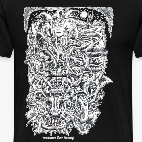 Witches And Devils - Men's Premium T-Shirt