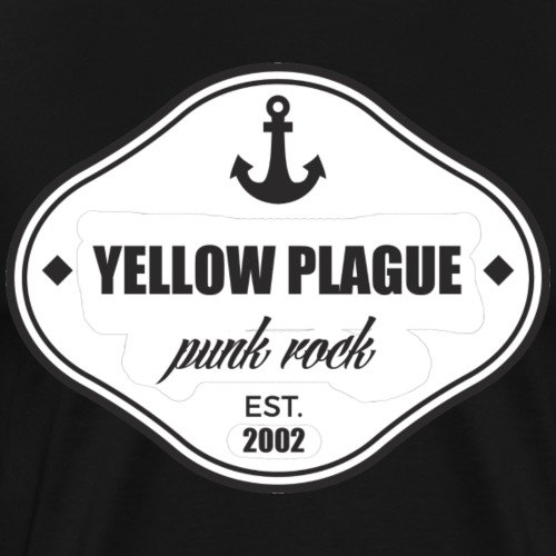 ankkuri - Miesten premium t-paita