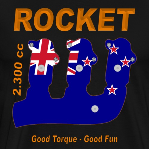 good torque – good fun Rocket III New Zealand - Männer Premium T-Shirt
