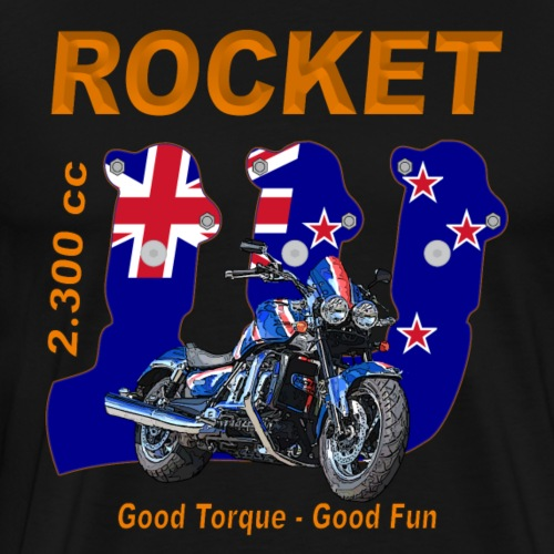 good torque – Rocket III Roadster New Zealand - Männer Premium T-Shirt