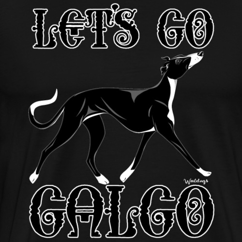 Galgo Go 9 - Men's Premium T-Shirt