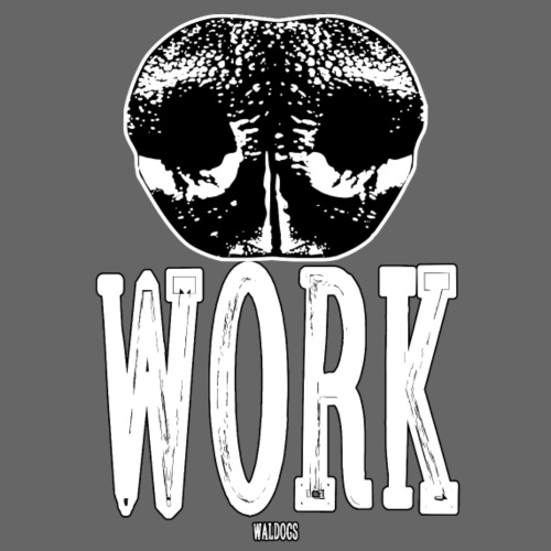 Nosework Blackwhite - Miesten premium t-paita