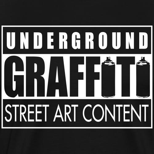 Underground graffiti flex - T-shirt Premium Homme