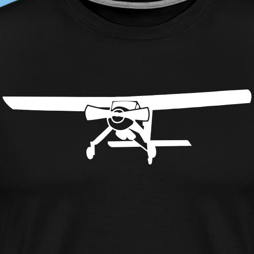 Motorflugzeug Pilot Geschenk Motor - Männer Premium T-Shirt