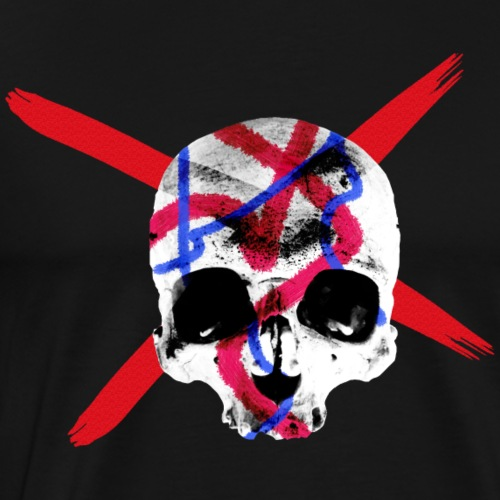 Skull Abstract - Männer Premium T-Shirt