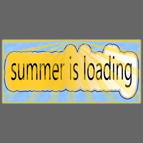 summer is loading - Männer Premium T-Shirt