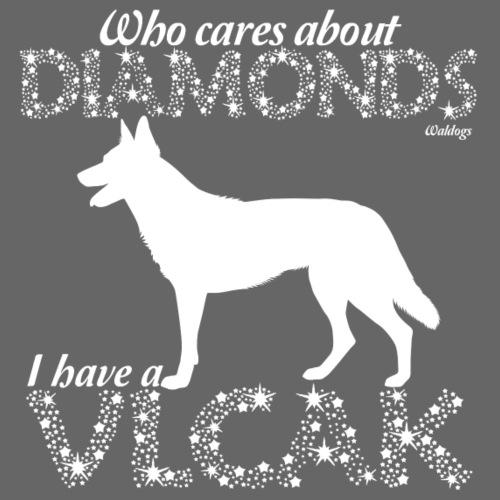 Vlcak Diamonds - Miesten premium t-paita