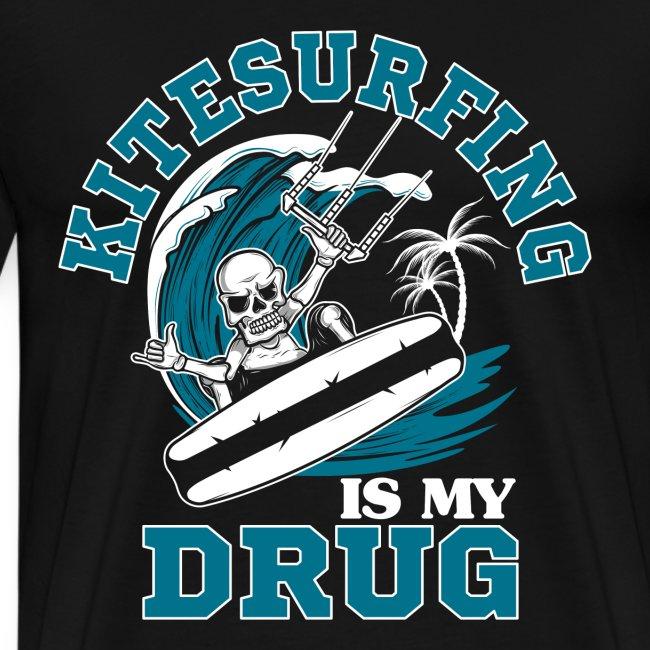 Kitesurfing is my drug