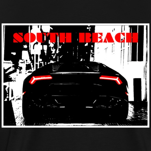SOUTH BEACH - Männer Premium T-Shirt