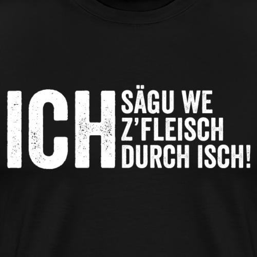 ICH SÄGU WE - Männer Premium T-Shirt
