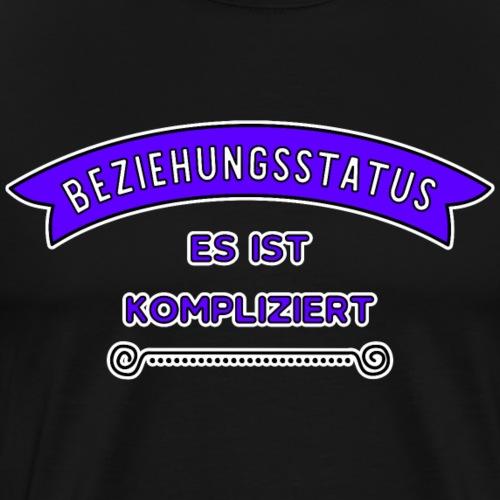 Beziehungsstatus Kompliziert - Männer Premium T-Shirt