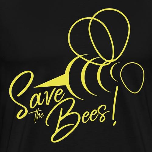 Save the Bees - Rettet die Bienen! Geschenkidee - Männer Premium T-Shirt