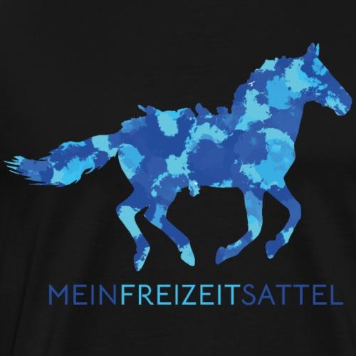 Freizeitsattel - Männer Premium T-Shirt