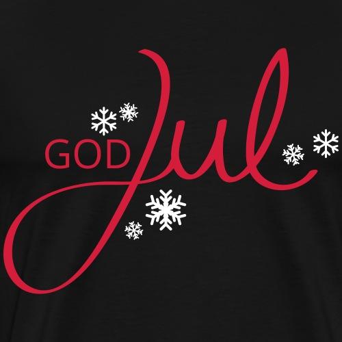 God Jul - Männer Premium T-Shirt