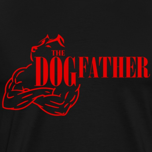 The dogfather - Men's Premium T-Shirt