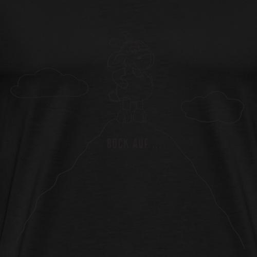 Schafbock: Bock auf ... - schwarz - Männer Premium T-Shirt