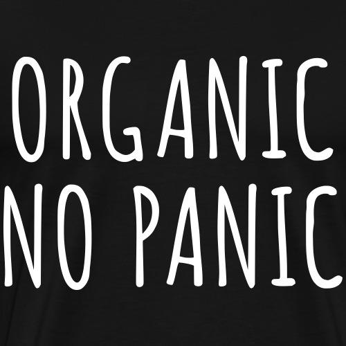 Organic No Panic svg - Männer Premium T-Shirt