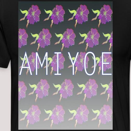 fusión de flores - Camiseta premium hombre