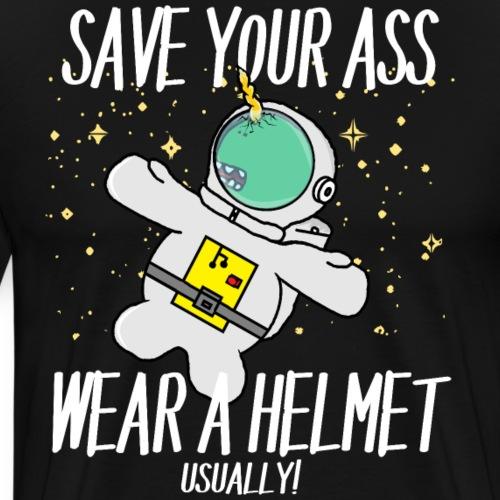 Monsticorns Funny Astronaut Helmet
