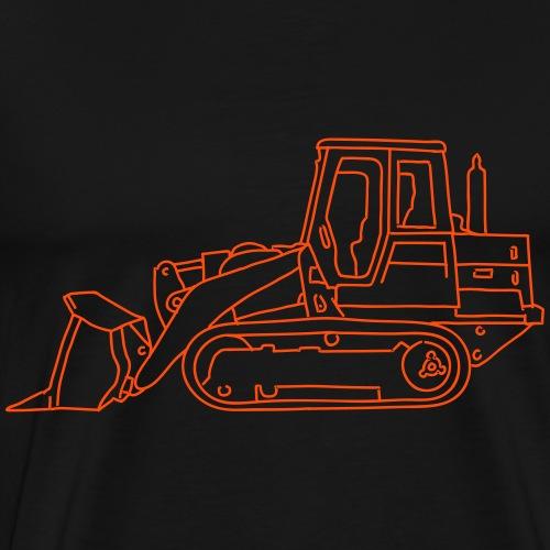 Bulldozer (Planierraube) - Männer Premium T-Shirt