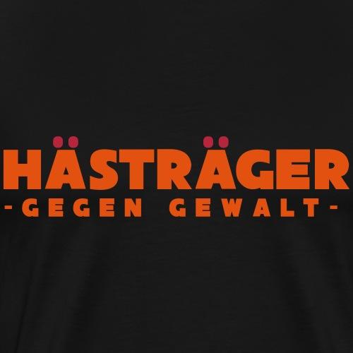 Hästräger gegen Gealt - Männer Premium T-Shirt