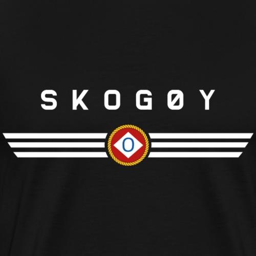 Skogøy Baugmerke - Premium T-skjorte for menn