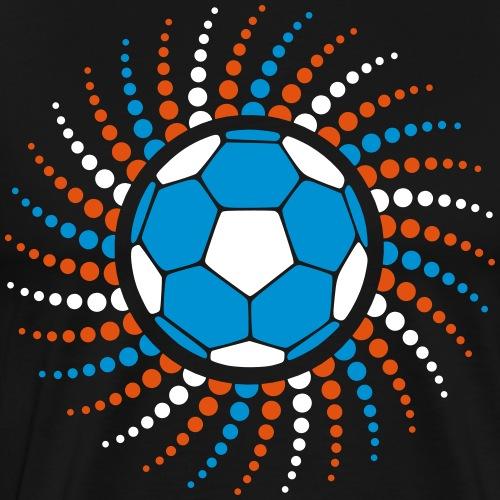 Handball Punkte Spirale 3farbig - Männer Premium T-Shirt