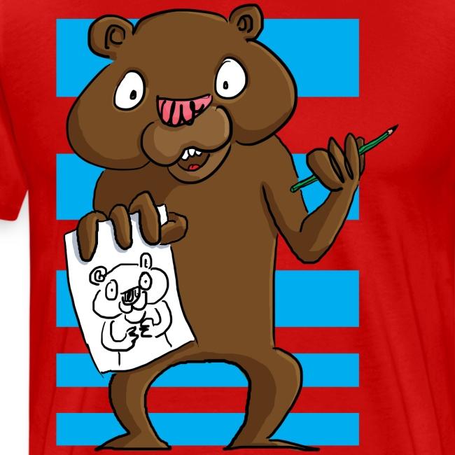 L'ours dessinateur