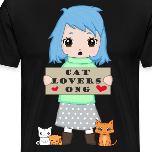 Cat lovers ONG - Men's Premium T-Shirt