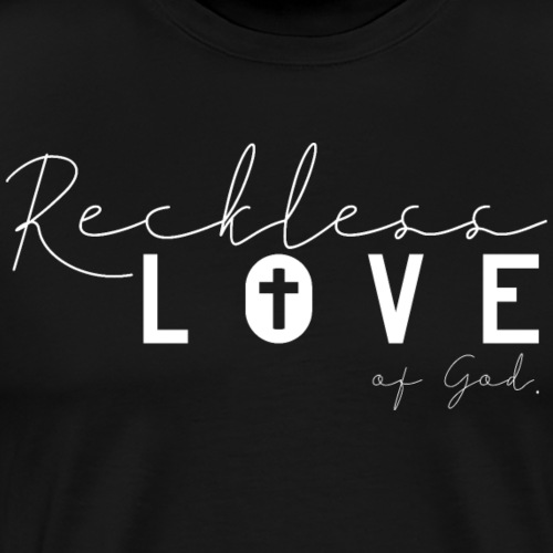 Reckless Love of God Jesus Christlich - Männer Premium T-Shirt