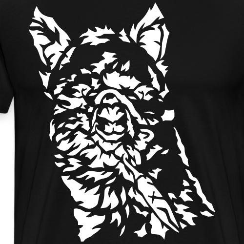 Alpaka - Männer Premium T-Shirt