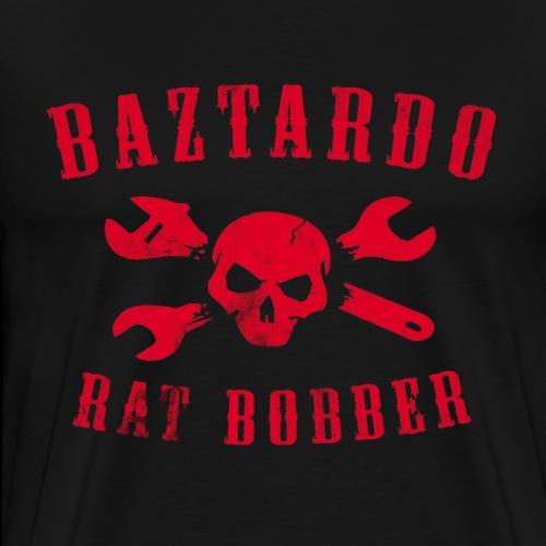 BAZTARDO - Rat Bobber - Männer Premium T-Shirt