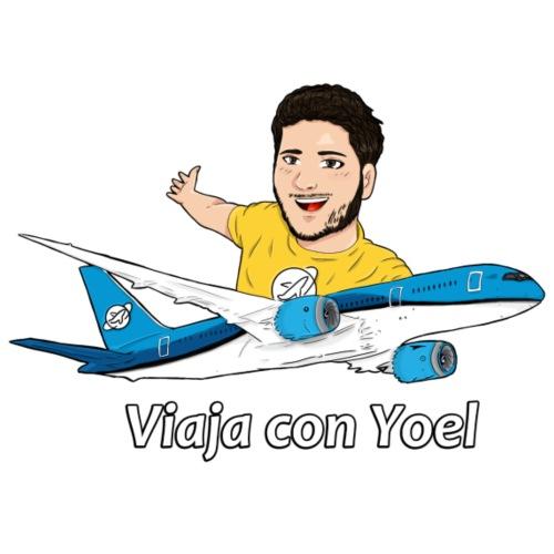 Frequent Flyer Yellow Viaja con Yoel - Camiseta premium hombre