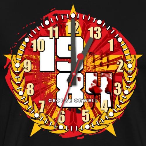 L'horloge sonna treize - T-shirt Premium Homme