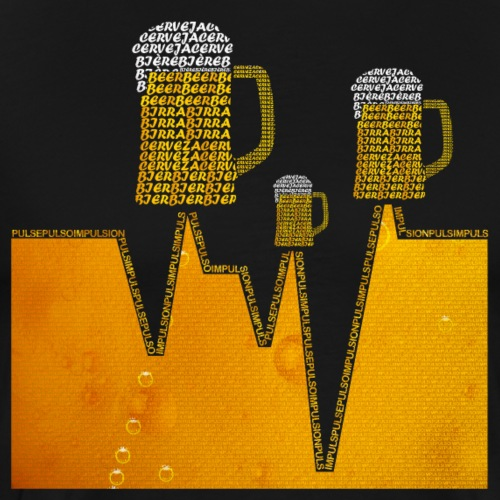 Cerveza Internacional V3 Color V2 - Camiseta premium hombre