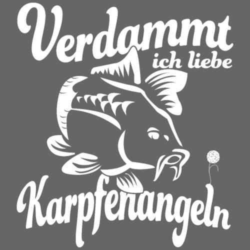Verdammt ich liebe Karpfenangeln - Männer Premium T-Shirt