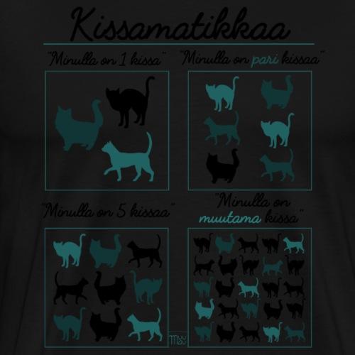 Kissamatikkaa II - Miesten premium t-paita