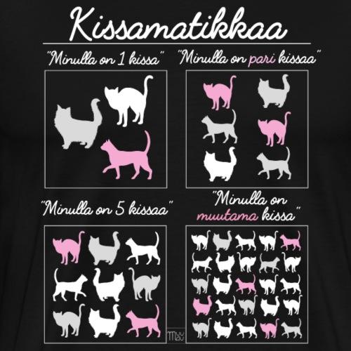 Kissamatikkaa - Miesten premium t-paita