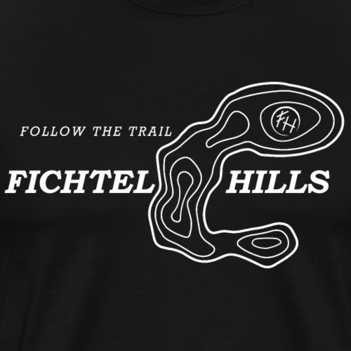 Fichtelhills Hufeisen Höhenlinien