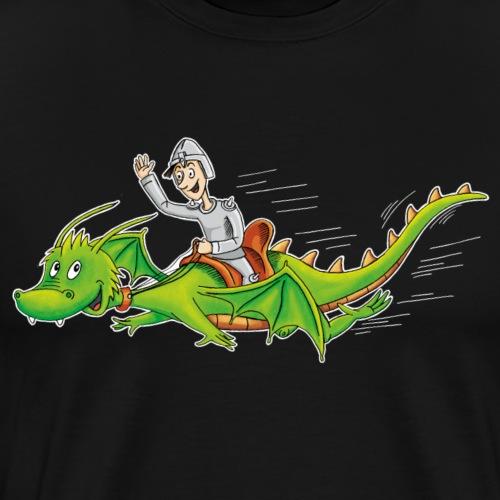 Drachenreiter - Männer Premium T-Shirt