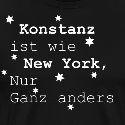 Konstanz - Männer Premium T-Shirt