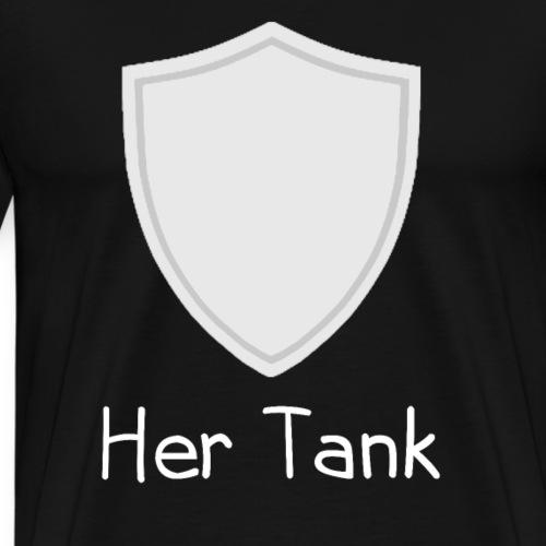 Her Tank Gamer Couple - Männer Premium T-Shirt