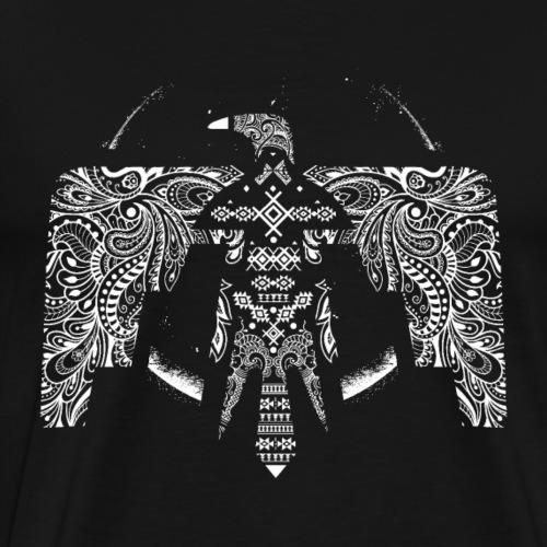 Phönix (weiß) - Männer Premium T-Shirt