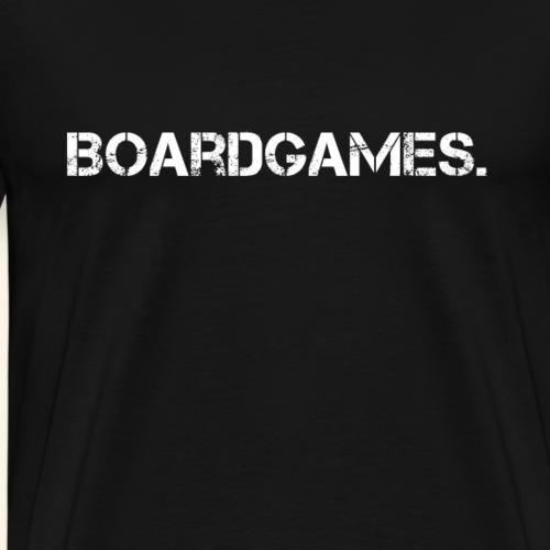 Boardgames. - Männer Premium T-Shirt