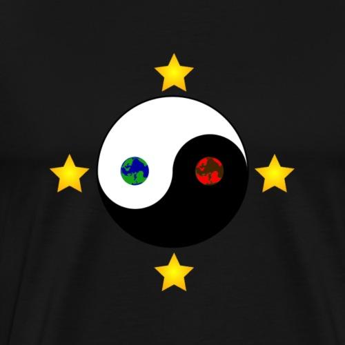 DeltaDragons Fan t-shirt - Herre premium T-shirt