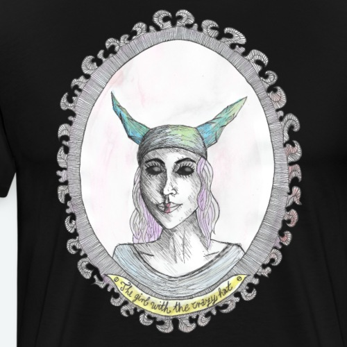the girl-crazy hat- - Männer Premium T-Shirt