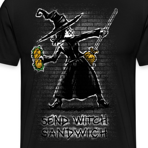 Send Witch Sandwich - Men's Premium T-Shirt
