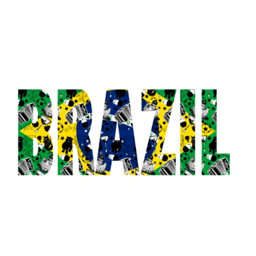 Brasil World Cup - Männer Premium T-Shirt